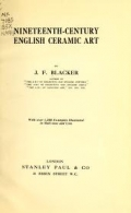 Cover of Nineteenth-century English ceramic art