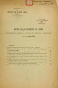 Cover of Notizie sulla repubblica di Liberia