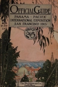 "Cover of ""Official guide of the Panama-Pacific International Exposition, 1915"""
