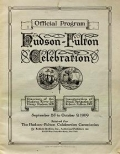 Cover of Official program, Hudson-Fulton Celebration