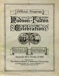 Cover of Official program, Hudson-Fulton Celebration