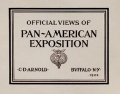 """Cover of """"Official views of Pan-American exposition"""""""