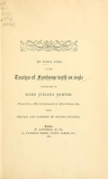 Cover of An older form of the treatyse of fysshynge wyth an angle