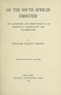 Cover of On the South African frontier