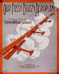 "Cover of ""Our fussy buzzy aeroplane"""