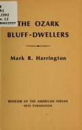Cover of The Ozark bluff-dwellers