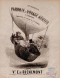 """Cover of """"Parodie du voyage aérien"""""""