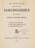 Cover of Ka patakaikatek masinaigan kaakonikigobanen Jesos