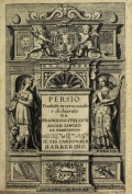 Cover of Persio