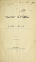 Cover of The philosophy of storms