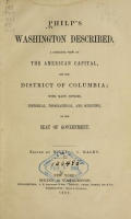Cover of Philp's Washington described