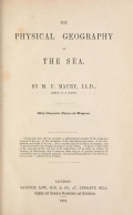 Cover of The physical geography of the sea