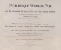 Cover of Picturesque world's fair