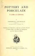 Cover of Pottery and porcelain