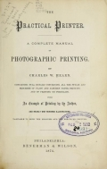 Cover of The practical printer