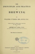 Cover of The principles and practice of brewing