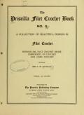 Cover of The Priscilla filet crochet book, no. 2