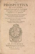 """Cover of """"La prospettiva di Euclide"""""""