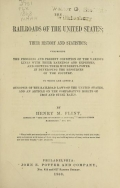 Cover of The railroads of the United States
