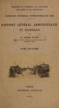 Cover of Rapport gel®el²al administratif et technique