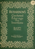 Cover of Richardson's crocheted edgings and insertions