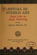 Cover of Ritual in Pueblo art
