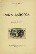 """Cover of """"Roma barocca /"""""""