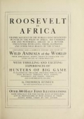 "Cover of ""Roosevelt in Africa"""