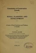 Cover of Rural planning and development