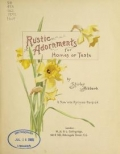 "Cover of ""Rustic adornments for homes of taste"""