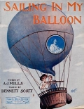 Cover of Sailing in my balloon