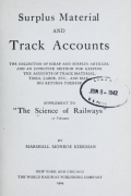 Cover of The science of railways
