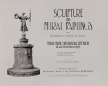 Cover of Sculpture and mural paintings in the beautiful courts, colonnades and avenues of the Panama-Pacific International Exposition at San Francisco 1915