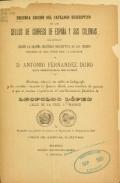 Cover of Segunda edición del catálogo descriptivo de los sellos de correos de España y sus colonias