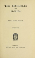 Cover of The Seminoles of Florida