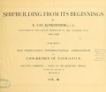 "Cover of ""Shipbuilding from its beginnings"""
