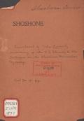 Cover of Shoshone