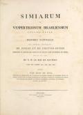 Cover of Simiarum et vespertilionum brasiliensium species novae =