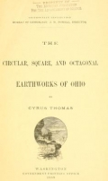Cover of Smithsonian Institution, Bureau of Ethnology