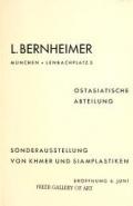 """Cover of """"Sonderausstellung von khmer und siamplastiken"""""""