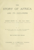 """Cover of """"The story of Africa and its explorers v. 3"""""""