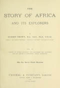"""Cover of """"The story of Africa and its explorers v. 4"""""""