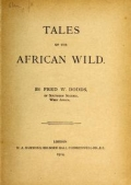Cover of Tales of the African wild