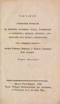 Cover of Tentamen juventutem studiosam in elementa matheseos purae, elementaris ac sublimioris, methodo intuitiva, evidentiaque huic propria, introducendi