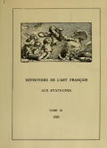 Cover of Third official loan exhibition of French art