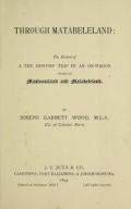 Cover of Through Matabeleland