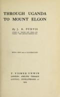 "Cover of ""Through Uganda to Mount Elgon"""