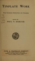 Cover of Tinplate work