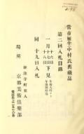 """Cover of """"Toshi (Ganpan) Nakamura Shi kyuzohin : dai 2-kai nyusatsu mokuroku."""""""
