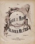 """Cover of """"Le tour du monde"""""""